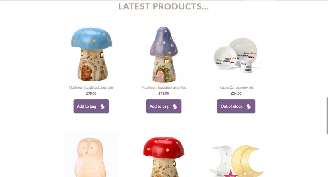 latest-products-display-kids-gift-shop-web-design-north-wales-llandudno-colwyn-bay-conwy