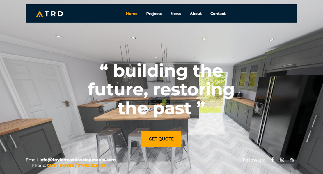 taylor-rose-developments-drupal-wordpress-web-design-glossop-derbyshire.
